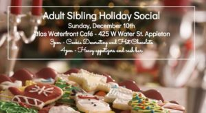 Adult Sibling Holiday Social @ Atlas Waterfront Cafe | Appleton | Wisconsin | United States